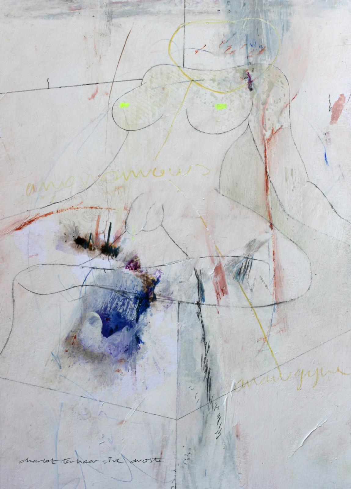 Schilderij #239 - verkocht -