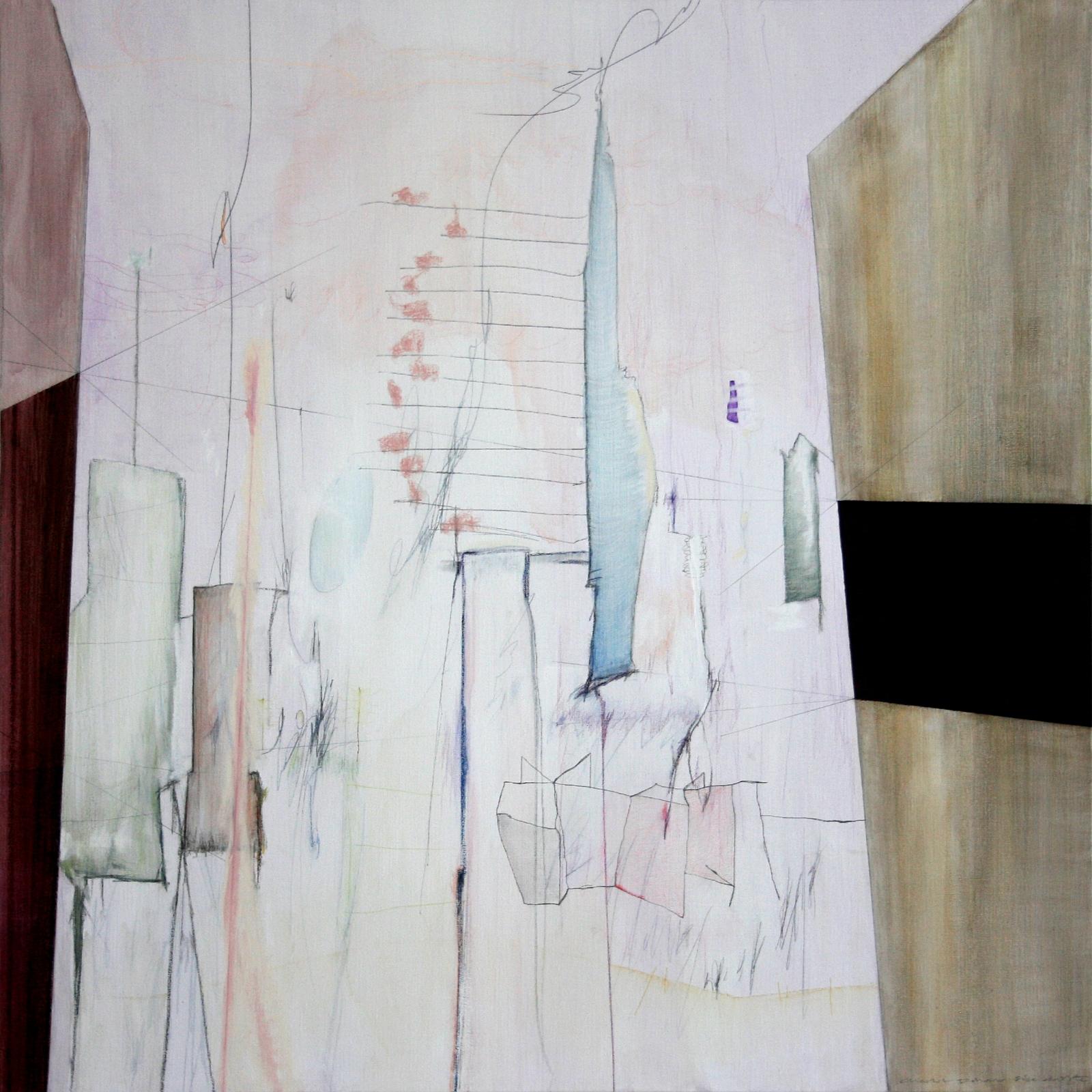 Schilderij #223 - verkocht -